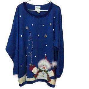 The Quacker Factory Heavy Christmas Sweater